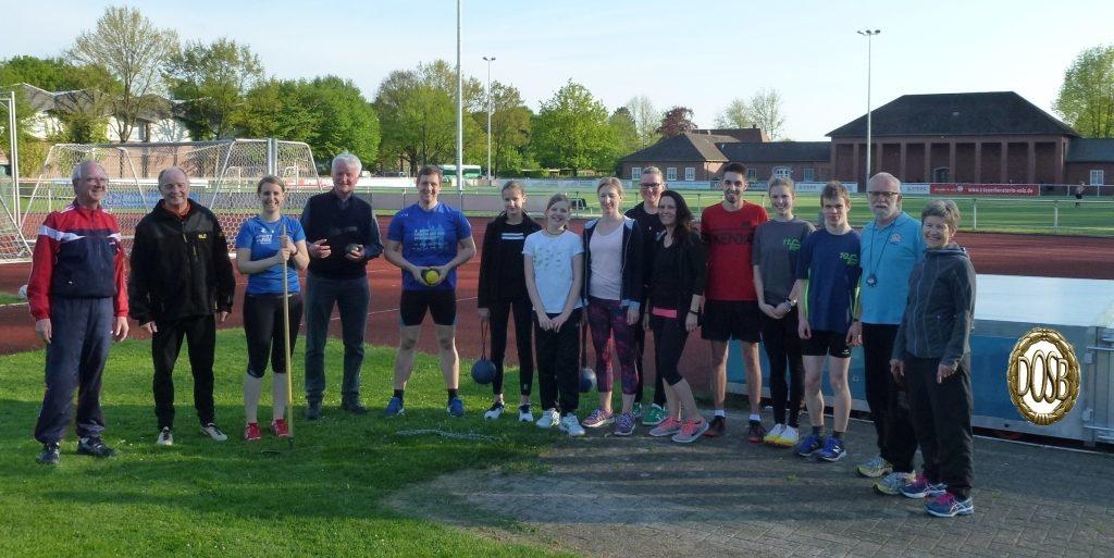 Start in die Saison Mai 2018 bei besten Bedingungen und mit motivierten Sportlern aller Altersgruppen.
