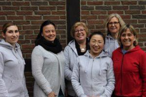 Abtleiungsleiterin Sabine Kathmann und das Team
